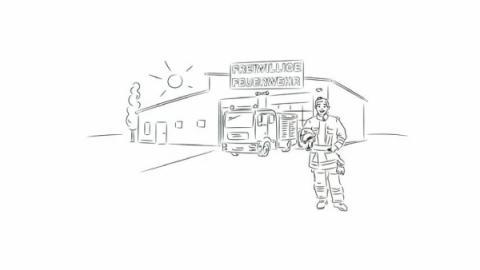 Arbeitsunfall bei der Feuerwehr